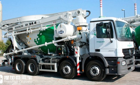 """它是泵车里的""""天泵"""",最高可达101米,臂架式泵车知识小科普"""