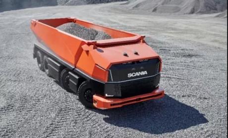 斯堪尼亚家族最新成员:Scania AXL自动驾驶概念车震撼登场