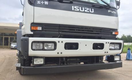 终于把自动挡变速箱引入到了国内,庆铃FVR自动挡载货车实拍