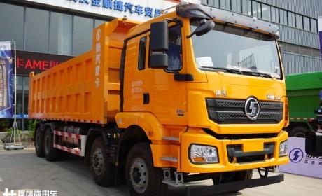 陕汽更具性价比的自卸车,带您见识德龙新M3000前四后八的硬实力