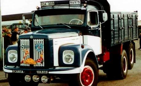 这辆斯堪尼亚长头卡车厉害了,早已停产,车主舍不得卖自己收藏了