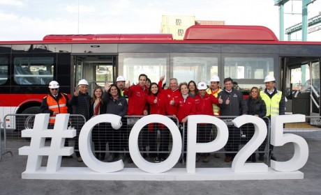 总统见证!智利开通拉美首条电动巴士专线,运行车辆全部来自比亚迪