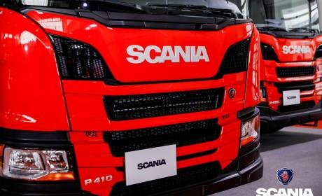 全新一代斯堪尼亚消防车专用底盘首次亮相第十八届北京消防展