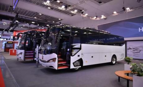 为中国智造代言!苏州金龙海格客车亮相比利时世界客车博览会!
