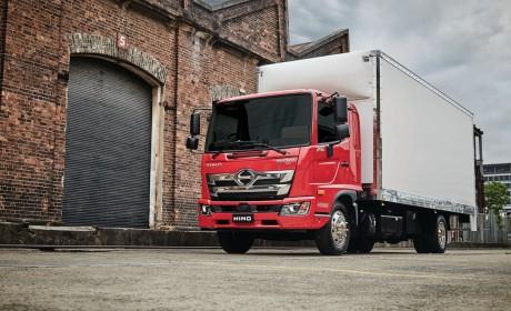 澳大利亚日野中型卡车销售中65%车型选择艾里逊变速箱