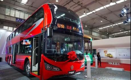传统文化新载体 ,银隆新一代纯电动双层巴士展国粹风华