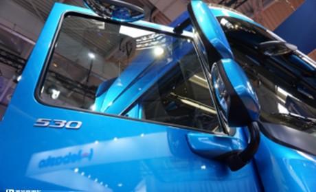 欧卡七雄之一,荷兰达夫卡车怎么样?实拍旗舰车型带您好好看看