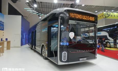 宇通最近亮相欧洲的三款客车,都拿了大奖,12米电动大巴配置真高