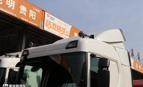 新款斯堪尼亚卡车的入门车型,据说60万出头就能买到,GN410深度评测