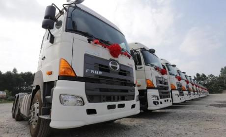 签单200辆700牵引车,广汽日野用质量和服务赢得客户