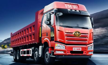 550马力发动机,2020款解放J6P自卸车真正的赚钱利器