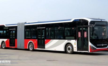 中通新申请一款18米电动公交,工信部324批客车公告公交新品分析