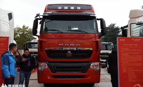 2020款豪沃T7H亮相,配了重汽自动挡变速箱,自重也降到了7.9吨!