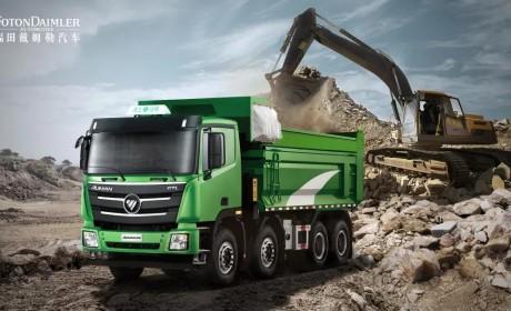 上市即获1280台订单,占据北京80%市场,欧曼渣土车到底哪里优秀?