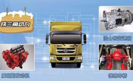 国六动力,装载量更大,东风多利卡D9更值得信赖