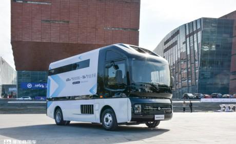 外观设计很未来,续航超600公里,电咖商用车ER600新能源物流车实拍评测