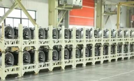 东风商用车龙擎品牌重型变速箱批量投产!