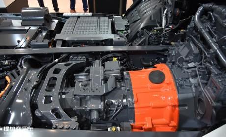 陕汽打造的下一代搅拌车,最高节油20%,混动版德龙M6000搅拌车实拍讲解