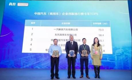 再登中国汽车(卡车)企业创新排行榜TOP5,华菱星马用实力说话