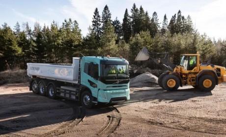 沃尔沃卡车推出首款重型电动概念卡车,用于建筑施工和区域配送