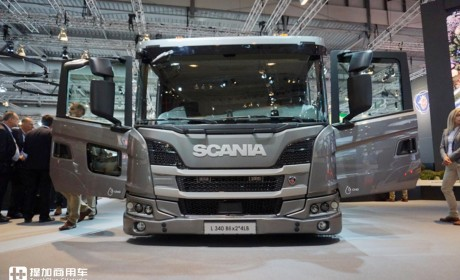 超低入口的低趴卡车,带您见识斯堪尼亚专为城市作业打造的底盘车