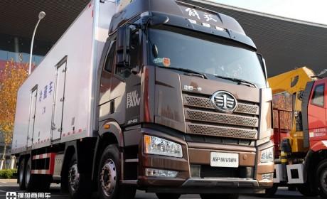 解放新J6L载货车来了,不仅外观、内饰变化大,底盘配置升级更诱人