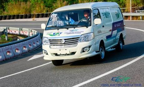 """中国新能源汽车(物流车)挑战赛 金旅""""海狮""""再显身手"""