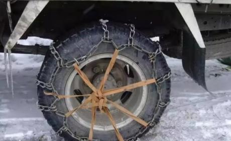 冬季行车轮胎易打滑 ?这几招帮您解决