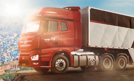 累计生产整车突破700万辆,解放已连续8年领跑中国卡车品牌