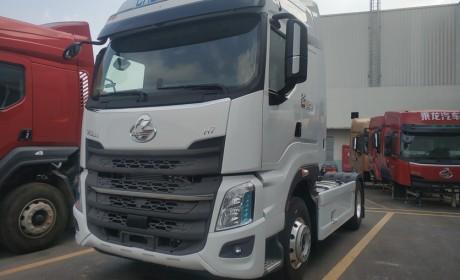 伊朗卡车司机也喜欢玉柴发动机?柳汽出口到伊朗的乘龙H7牵引车实拍