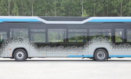 带您见识一款来自土耳其的电动公交,机械按键全取消,外形也很流线