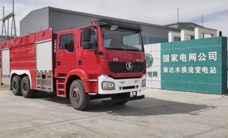 没有金刚钻不揽瓷器活,新M3000 6×4泡沫消防车来了!