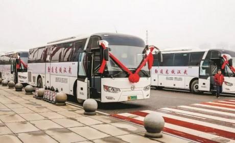 金旅氢燃料电池客车,驶进武汉通勤路
