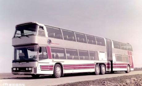 带您回忆80年代我国的公路铰接车,坐这些公交大长的,孩子都上小学了