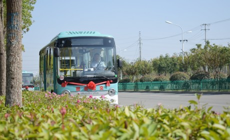 """""""绿色公交""""驶入全国百强县,助力打造城乡公交一体化"""