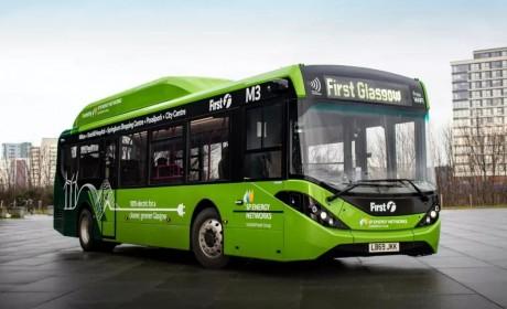 比亚迪助力打造英国格拉斯哥首条电动公交专线