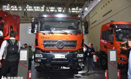 新引擎,新名称,带您全新认识国六排放的东风天龙工程自卸车