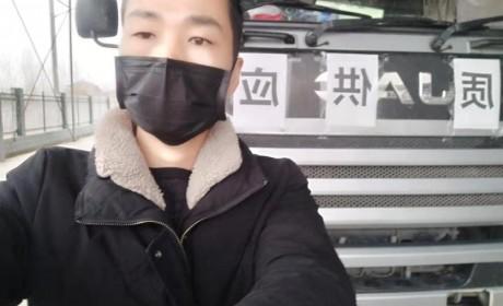 除了医护人员还有谁往武汉疫区冲?还有卡车司机,他们才是幕后英雄
