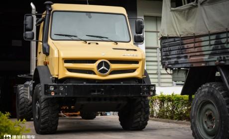 海拔6100米,创造越野卡车最高爬坡记录,乌尼莫克为何那么强?