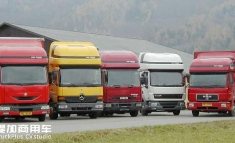 上世纪引入国内的欧洲卡车挖掘系列,绝对稀有的奔驰LK载货车实拍