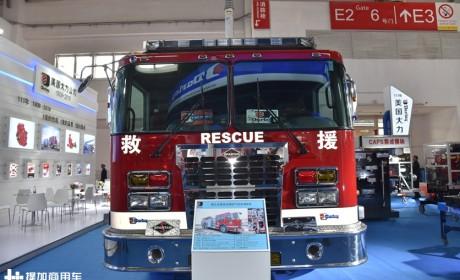 美国大力消防车实拍,达夫推出特别版XF系列牵引车,提加一周好文推荐