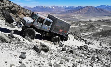 硬核挑战创世界纪录,乌尼莫克登上海拔6694米火山!
