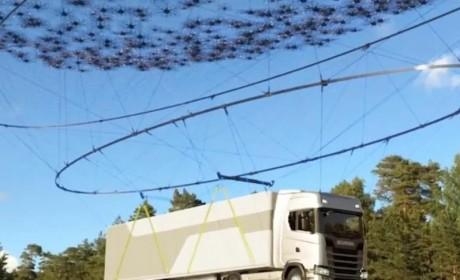 2000驾无人机吊起40吨斯堪尼亚卡车,这个创意怎么来的?