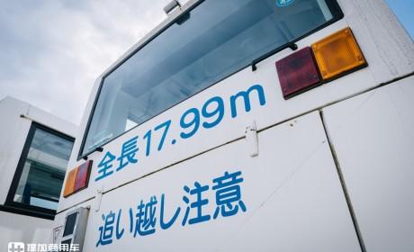 日本少之又少的公交车型,盘点那些在日本运行的超长铰接巴士