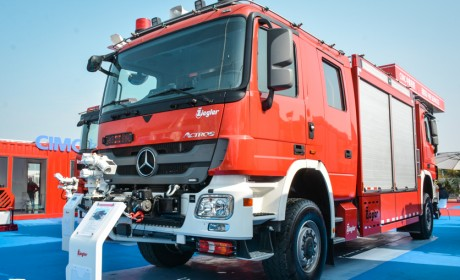 双头消防车有什么好,为什么售价高昂也要买?实拍齐格勒双头消防车告诉你