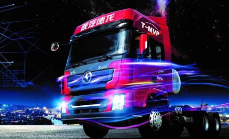 劲大、省气、可靠就选德龙X3000 LNG牵引车