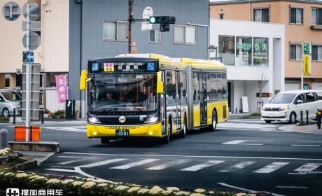 斯堪尼亚公交加入,市场规模略成型,解读日本链铰巴士发展(四)