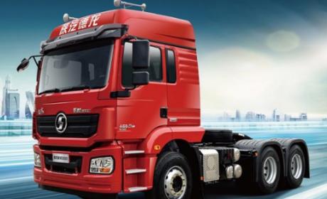 德龙新M3000 6×4牵引车,煤炭运输界的实力派