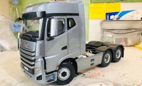 您玩卡车模型吗?这款江淮格尔发高端重卡K7模型,很值得收藏