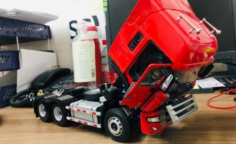 史上最便宜的国产1:24比例卡车模型——江淮格尔发K3w牵引车模型
